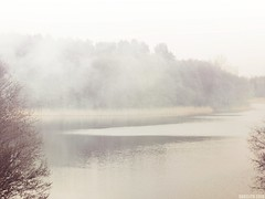The Mists of Avalon (Saga☆) Tags: skanda lake olsztyn nature water mist mysterious magic avalon