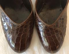 Vintage 1950s Alligator Pumps (profkaren) Tags: 1950sshoes vintageshoes alligatorshoes