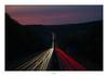 Dawn of a Highway (Max Angelsburger) Tags: highway autobahn a8 traffic four lanes six bridge april2018 pforzheim anschlussstelleost ost ausfahrt raststätte autobahnbrücke eutingen niefern niefernöschelbronn sunset