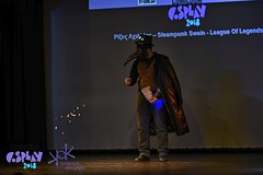Comicdom Con Athens 2018 Stage Performances! (SpirosK photography) Tags: cosplay cosplaycontest costumeplay prejudging photoshoot portrait spiroskphotography comicdomcon comicdomconathens2018 comicdomcon2018 comicdomconathens stage onstage steampunk