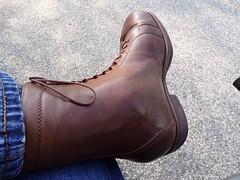 Orthopedic shoe - orthopädischer Schuh (herby_02) Tags: orthopedic orthopädisch orthopädische orthopädischemasschuhe schuhe shoes schuh shoe leathershoe lederschuh gehbehinderung gehbehindert disability disabled masschuh masschuhe handicap fus füse foot feet