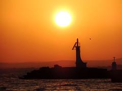 phare du Grau du Roi (danie _m_) Tags: naturepic seascape lighthouse sunset light sun sea eternity immensity lovenature beautiful landscape water sky nature paysage mer coucherdesoleil eau ciel soleil phare sud france méditerranée