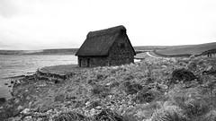 Desolation (_DarkBlue) Tags: barn lake monochrome yorkshiredales