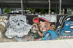 Bangkok (mendofacebook) Tags: bangkok streetart thailand