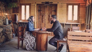 While shooting the music video #photography #old #capture #indoor #Behind_doors #couple #photooftheday #photo #photo_art #photographyoftheday #flickr #pic #explore