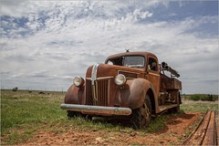 My '40's Ford Firetruck - View 1 (A Anderson Photography, over 2.4 million views) Tags: ford firetruck canon rust