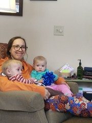 Amanda and the twins (Kellen Family) Tags: cute sweet mom mommy twins niece nephew daughter son kellen family love smiles happy memories