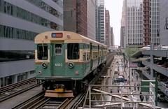 CTA 6101-02 Loop 5-22-89 19 (jsmatlak) Tags: chicago cta l elevated subway train metro rapid transit 6000
