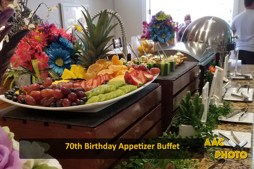 """70th Birthday Buffet • <a style=""""font-size:0.8em;"""" href=""""http://www.flickr.com/photos/159796538@N03/41873880601/"""" target=""""_blank"""">View on Flickr</a>"""
