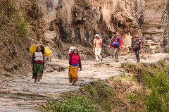 A way of life (sakthi vinodhini) Tags: ghandruk nepal abc annapurna trek backpack mountains himalayas people village villages asia southeast street