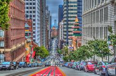 "Only In San Francisco (Michael F. Nyiri) Tags: sanfrancisco chinatown californiastreetsanfrancisco baybridge cityscape city buildings urban ""canonflickraward"