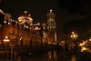 Noche de lluvia en el Centro (Manuel Martinez RT5) Tags: centro iluminación lluvia noche catedraldepuebla méxico puebla