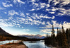 Cirrus Clouds over Athabasca River, Jasper National Park, Alberta (klauslang99) Tags: klauslang nature naturalworld northamerica canada cirrus clouds athabasca river jasper national park alberta water sky landscape ngc