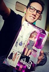 A dream comes True 😍 (Lo_zio87_Barbie Collector) Tags: me male doll collector barbie 35th anniversary 1993 1959 smile