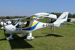 G-CEDE (GH@BHD) Tags: gcede flightdesign ctsw pophammicrolighttradefair2018 pophamairfield popham microlight aircraft aviation