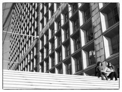 La Défense (Hans Heemsbergen) Tags: hansheemsbergen lumixg3 zwartwit bw parijs