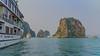 Vietnam-Halong Bay (Gilama Mill) Tags: lighting bay halong ocean cruise boats ships rocks sea water asia streets travel