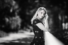 lily (KeH3o) Tags: nikon d750 85mm f14 godox ad600 blonde female