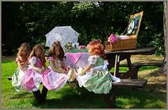 Kindergartenkinder ... (Kindergartenkinder 2018) Tags: schloss lembeck kindergartenkinder sanrike milina tivi annemoni annette himstedt dolls