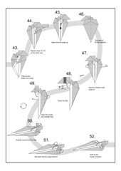 jedi starfighter diagram page  5 (Mdanger217) Tags: star wars jedi starfighter max danger origami diagram