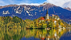 _MG_6656_DxO (carrolldeweese) Tags: lake bled slovenia marypilgrimagechurch church