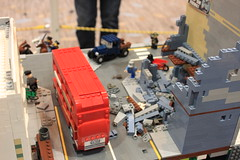 Battle of Britain (tyfighter07) Tags: lego wwii ww2 world war two worldwartwo worldwar britain battleofbritain battle firehydrant 1940 europe air airplane attack dogfight planes plane german fire fireman firetruck truck car bus cars road tube station building buildings street citystreet church damaged pub london sky spitfire mkvcsupermarinespitfire bf109 messerschmitt londonbus wars british bbtb bbtb2017 2017 moc military minifigs minifigures raf royal airforce luftwaffe smoke burning bombed bomb bricks by bay bricksbythebay brickbuilder7