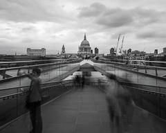 DSCf_017952 (mylesm00re) Tags: cityoflondon europe greatbritain lnd london londonmillenniumfootbridge riverthames stpaulscathedral uk unitedkingdom
