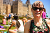 Yoga on the Hill (flashfix) Tags: may162018 2018inphotos ottawa ontario canada nikond7100 40mm nikon flashfix flashfixphotography portrait yogaonthehill yoga mom woman smile sunglasses parliamenthill parliamenthillyoga phy