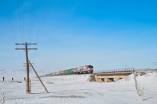 Trainspotting. Trans-Mongolian railway.