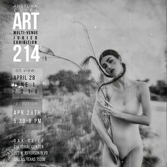 exhibitions │ART214, April 28-June 1, 2018, Oak Cliff Cultural Center, Dallas, Texas (RapidHeartMovement) Tags: exhibition rapidheartmovement