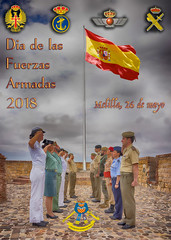 LOS SOLDADOS DE LA COMGEMEL (josmanmelilla) Tags: carteles difas militar fas fuerzasarmadas españa melilla pwmelilla flickphotowalk pwdmelilla pwdemelilla