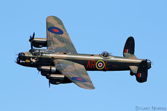 Lancaster B1 PA474 - Battle of Britain Memorial Flight RAF Coningsby (stu norris) Tags: lancasterb1 pa474 battleofbritainmemorialflight rafconingsby avrolancaster bbmf bomber theshuttleworthcollectionmayeveningairshow2018 ww2 worldwar2 bombercommand raf100 dambusters aviation vintage classic historic