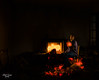 el magillo (CucoRomero) Tags: lightpainting lights linterna fuego modelpainting modelo luces urbex abandoned