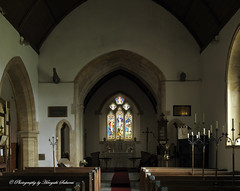 The Nave; St. Michael's Church, Enmore, Somerset (hasselfan) Tags: church nave architecture stained glass window organ musical instrument candles hasselbladflexbody distagoncf50mmf4 cfv50c