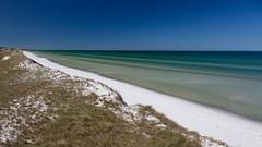 Blau - Grün - Weiss (jmwill2005) Tags: ostsee zingst pramort nationalpark vorpommersche boddenlandschaft meer strand wasser see himmel blau weiss grün urlaub sand polfilter