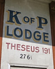 Knights of Pythias Lodge, Jackson, OH (Robby Virus) Tags: jackson ohio oh knights pythias lodge theseus 191 fraternal organization sign signage