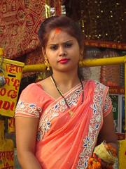 bridesmaid (gerben more) Tags: wedding varanasi benares india woman sari people portrait portret