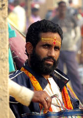 varanasi 2017 (gerben more) Tags: people portrait portret beard man handsomeman india varanasi benares