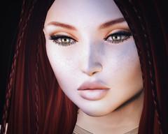Broolyn Baby (heidi.rewell) Tags: vanityhair arte fashion portrait beauty redhead semotion secondlife vista