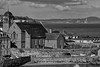 Kinghorn Church and graveyard, Fife, Scotland (Solas beag) Tags: fujifilmxt2 flickr silverefexpro2 scotland kinghorn bw blackandwhite pentaxm135mmf35 manuallens manualfocus primelens availablelight kinghornchurchandgraveyard fife fotodioxpkfxadapter firthofforth lenssn6711432 smc ashai
