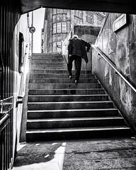 all the way up (berberbeard) Tags: hannover fotografie photography urban berberbeard berberbeardwordpresscom germany ilce7m2 itsnotatrick street sony deutschland menschen people schwarzweiss blackandwhite bnw monochrome