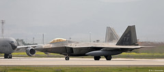 United States Air Force Lockheed F-22A Raptor TY/05-4106, 95th FS departing Morón AFB/LEMO (Mosh70) Tags: morónairbase lemo unitedstatesairforce unitedstatesairforceeurope lockheed f22araptor tyndall ty 95thfs