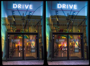 Drive 3-D / CrossView / Stereoscopy / HDRaw