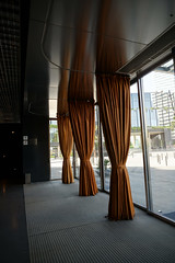 2018-04-FL-183497 (acme london) Tags: barcelona curtain entrance fira furniture hotel interior jeannouvel leather leathercurtain lobby renaissancehotelfira spain windscreen