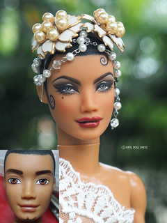 for sell : Repaint Barbie My Scene doll SUTTON