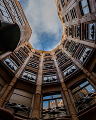Looking up series | No. 4 | Casa Mila (soomness) Tags: lookingup architecture design geometry geometric architect gaudi barcelona casamila spain españa travel travelphotography fujifilmxt2 fujifilm fujinon fuji xt2 xseries xf16mmf14wr europe museum art artistic