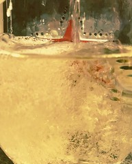 Pouring Bubbles (26.3andBeyond) Tags: sparklingwine wine glass