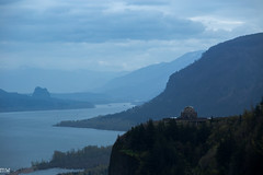 Columbia River Gorge (MikeWeinhold) Tags: columbiarivergorge oregon 70200mm 6d river gorge portlandwomensforumstatescenicviewpoint crownpoint