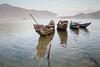 Simple boats (Asian Hideaways Photography) Tags: asia laguna boats morning sunrise sea vietnam landscape langco