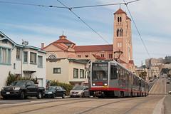 MUNI Nr. 1480+1520 Judah Street (Bus und Bahn by SF) Tags: breda lrv sanfrancisco muni tram streetcar strassenbahn stadtbahn munimetro